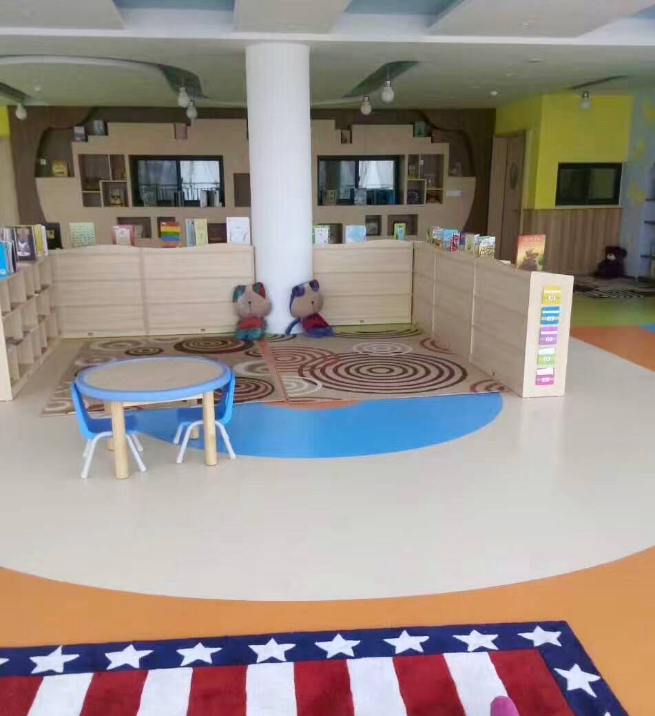 The Nursery School Flooring Project Is From Our Geneous Jiayuan Ii Offers Comfortable Feeling And Beautiful Desgin With Durable